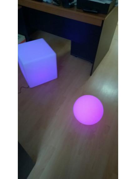 Светодиодный светящийся Куб 40х40см. Аккумуляторный ASKR-ДТУ-010-1388-65RGB