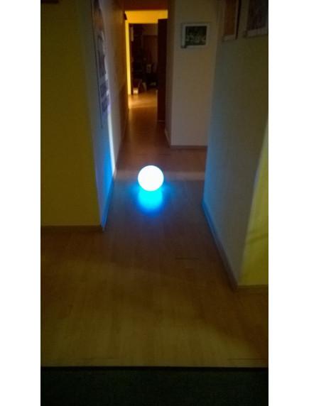 Светодиодный светящийся ШАР 30х30см. Аккумуляторный. ASKR-ДТУ-006-1389-65RGB