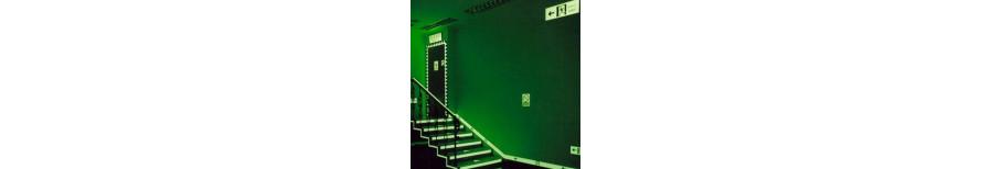 Аварийные светильники:  Размеры ДхШхВ, мм - 360х215х40