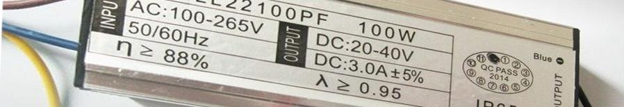 Блоки питания IP65:  Мощность, Вт - 20