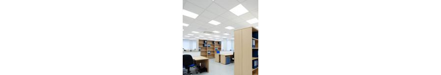 Офисные:  Размеры ДхШхВ, мм - 595х595х13