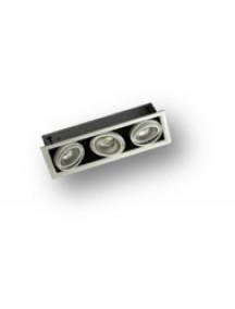 Встраиваемый светодиодный светильник ASEL-ДВО-01-044-3009-20Н