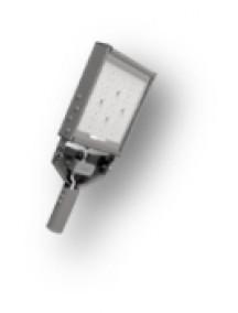 Светодиодный консольный светильник EcoWay КСС Д ASEL-ДКУ-050-3026-65Х для уличного освещения