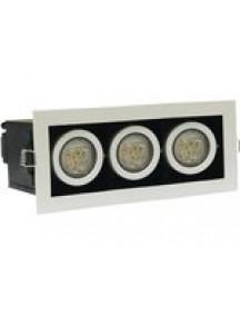 Светильник светодиодный встраиваемый ASBR-ДВО-3х3-3052-41Т