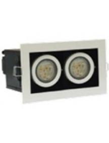 Светильник светодиодный встраиваемый ASBR-ДВО-2х3-3055-40Т