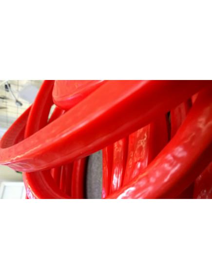 Светодиодный неон профессиональный Красный в красном кожухе ASNN-ДГН-005-1900-67К