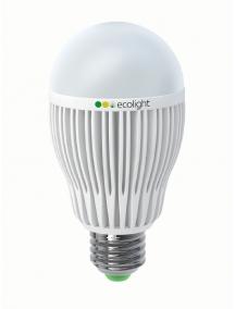 Светодиодная лампа EcoLamp, 8 Вт, с цоколем Е27