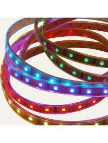 RGB «Бегущий Огонь» 30 светодиодов на метр в силиконовой В трубке IP-68